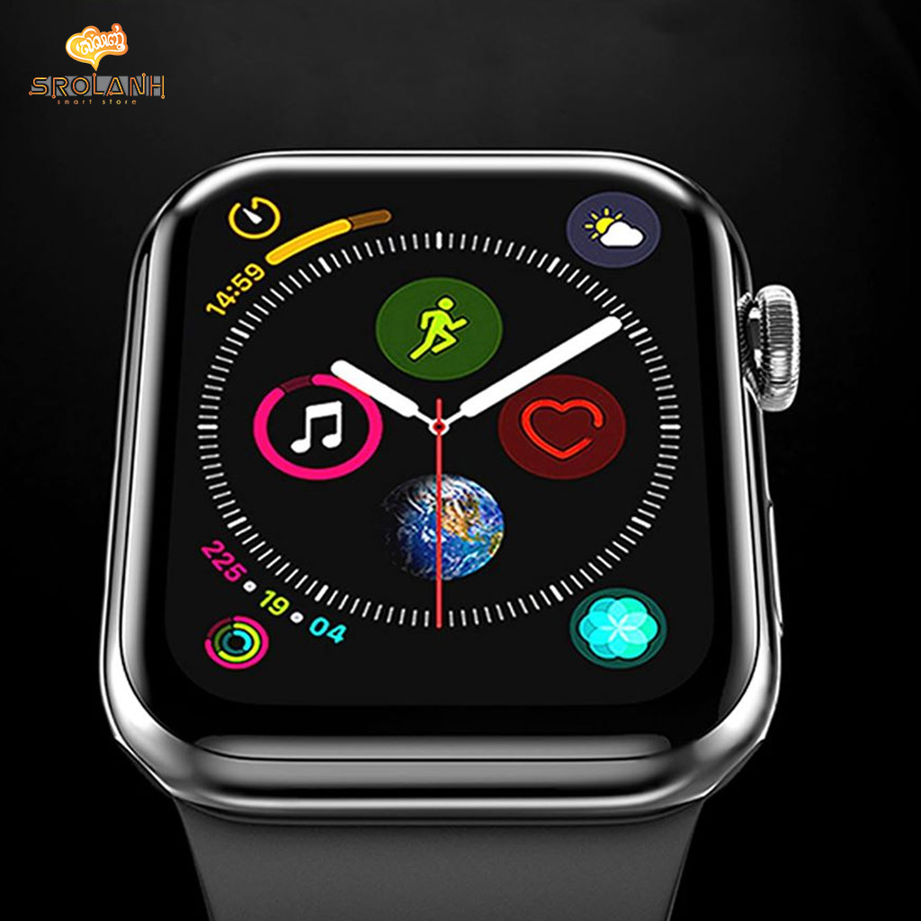 LIT The full screen titanium alloy tempered glass For Apple Watch 38mm GTIW38-TA0R