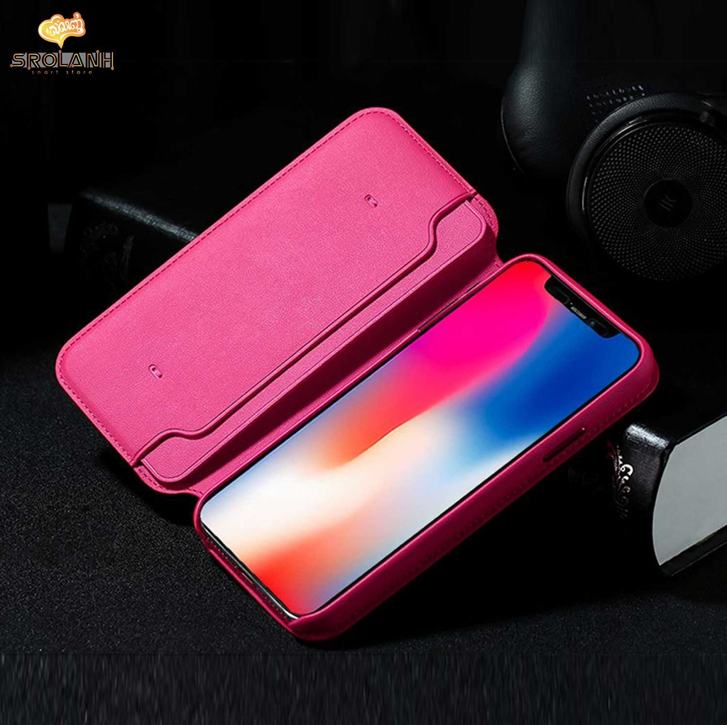 Remax Ideal leather case for iPhone X RM-1659