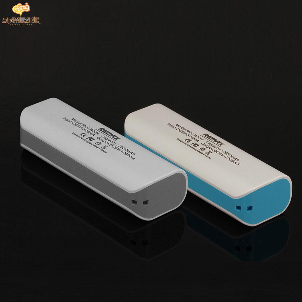 Mini White Series 2600mAh RPL-3