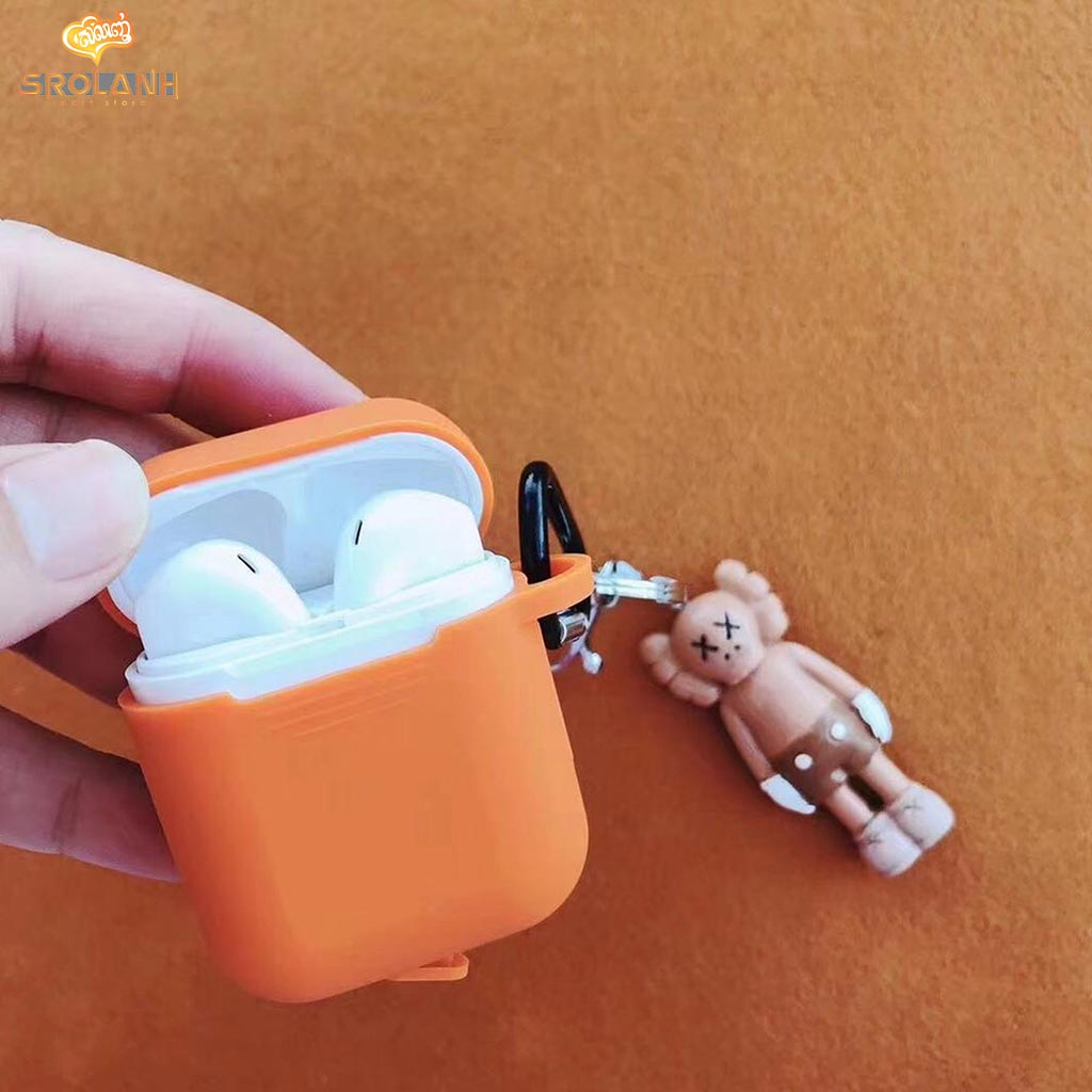 Cartoon Single Boy Keychain And AirPods Case