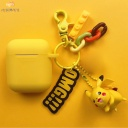 Cartoon Bells Series Keychain And AirPods Case