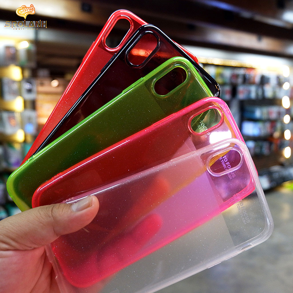 Rainbow case for iPhone XS Max