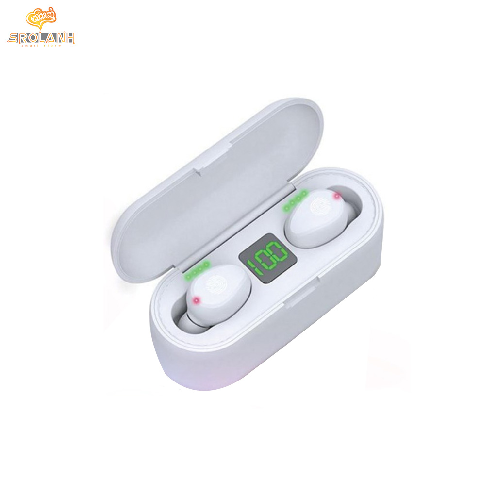 LIT The MINI bluetooth Earphone magnetic suction charging AMOI F9
