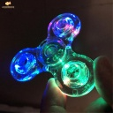 Hand spinner with LED three sides