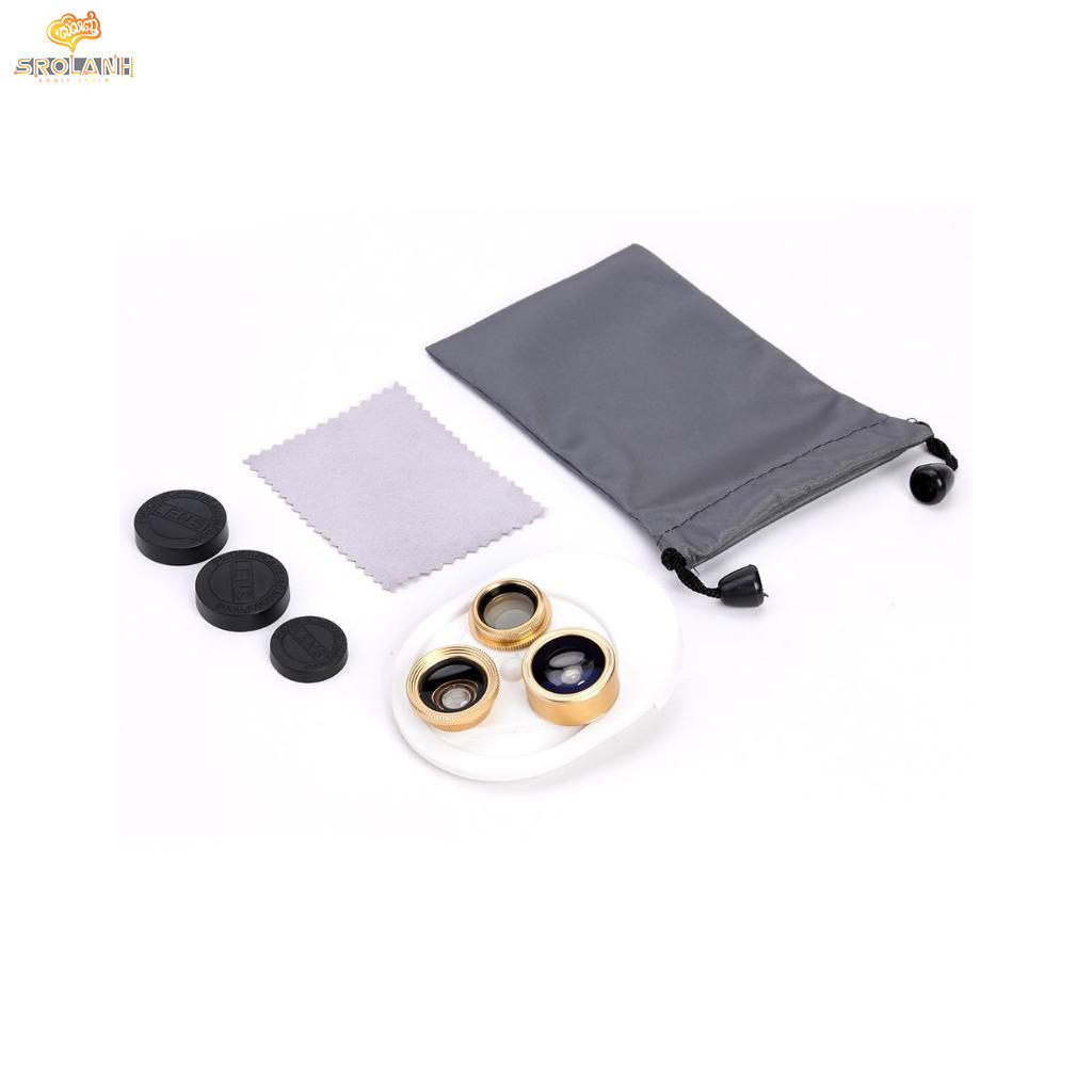 Integrate universal mobile phone lens 4 in 1 ZM-018