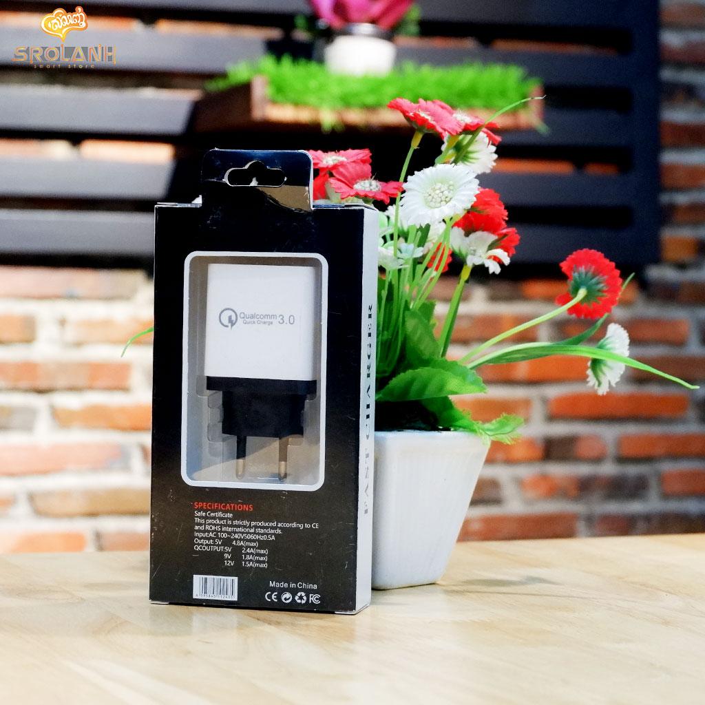 LIT The 3USB fast charger 5V 4.8A smart charger HCQC3-EU1