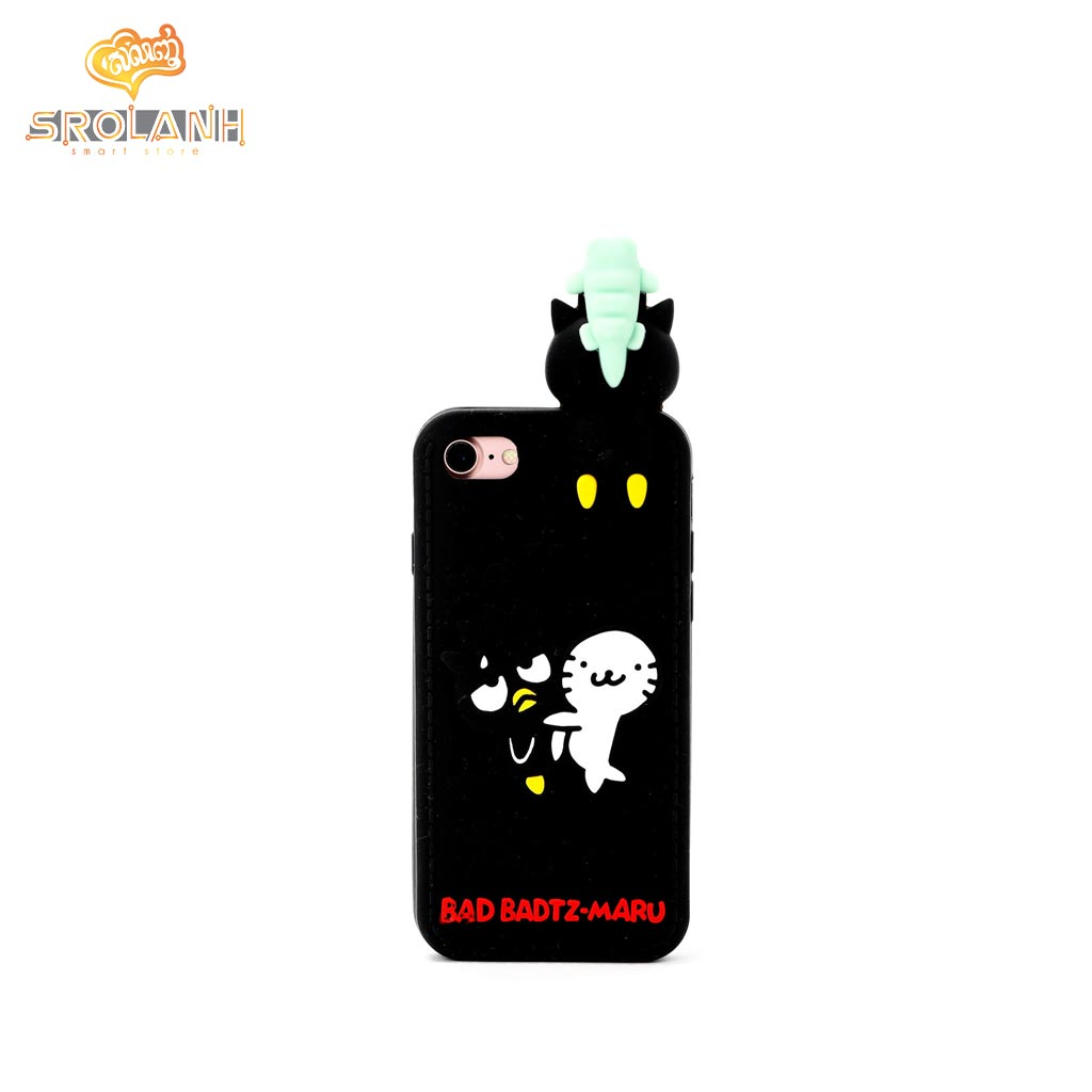 Cartoon Soft Case with lanyard Bad Badtz-Maru for Iphone 6/6s plus