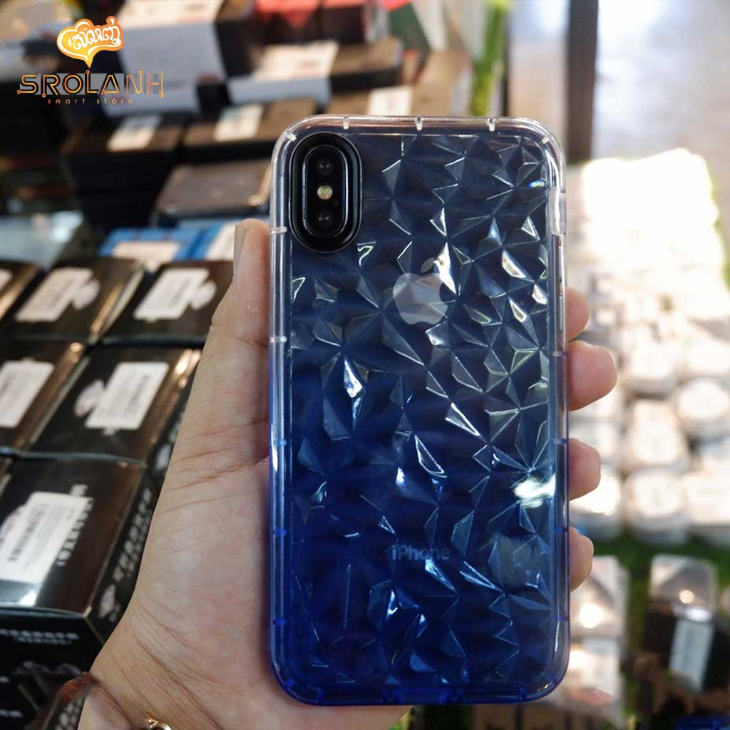 Fashion case crystal style with two color for iPhone XS Max