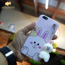 Classic case hello kitty with cartoon chains for iphone6