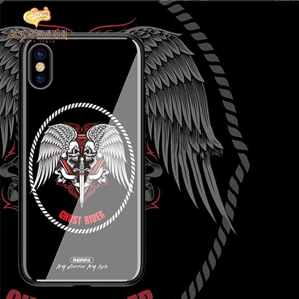 REMAX Yarose Painting series Phone case RM-1653 for iPhone X-BL-01