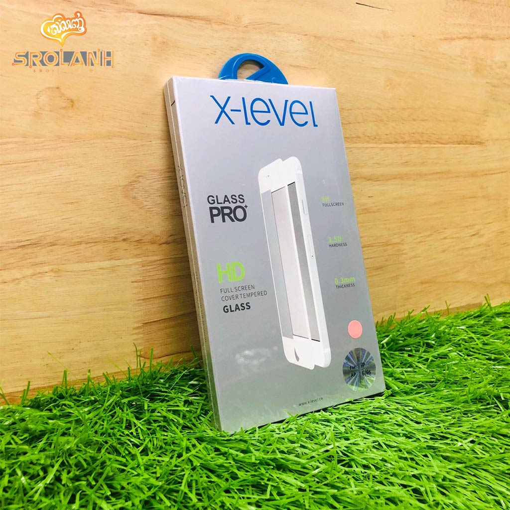 X-level HD Full screen cover temperted glass for iphone6