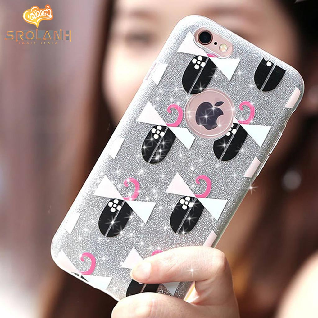 Remax Play glitter case for iphone 6s/Plus-QL-QW09