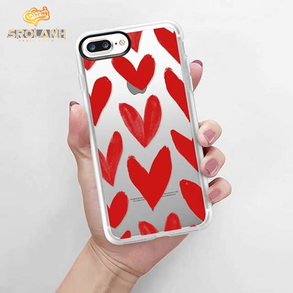 Classic case red heart for iphone7
