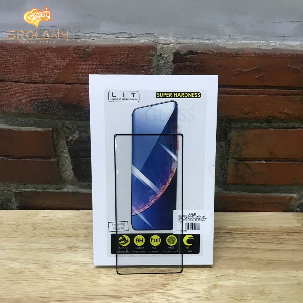 LIT The Curved Edge Full Glue Tempered Glass for Samsung Note 10 GTSMNI-FG01