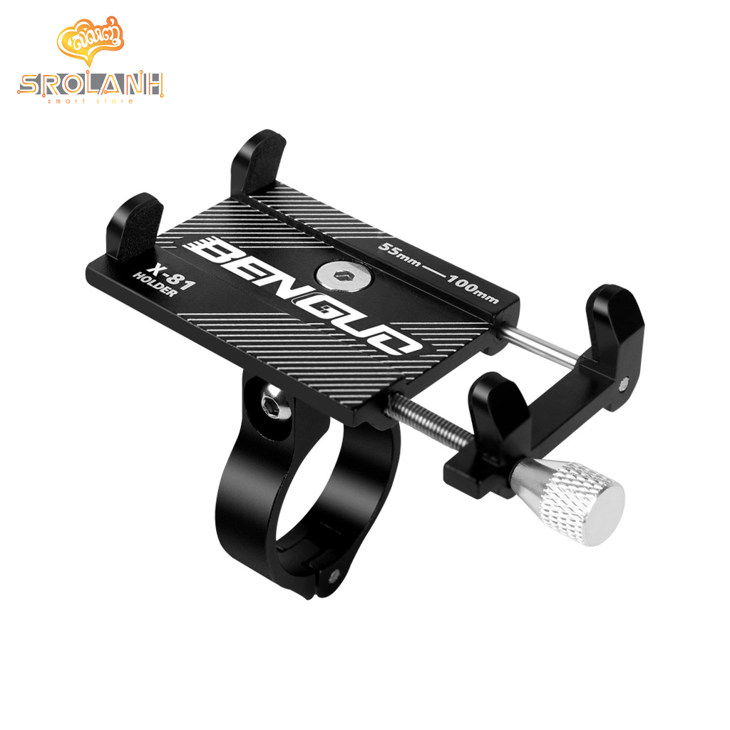 Benguo Bicycle Phone Holder For Smartphone 3.5-6.2 inch Phone Stand X-81
