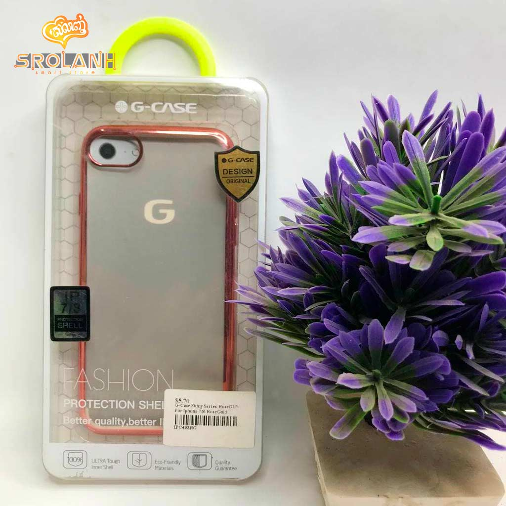 G-Case Shiny Series-RoseGLD For Iphone 7/8