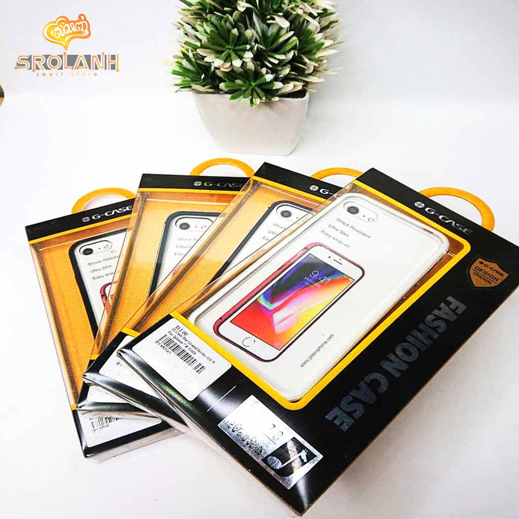 G-Case The Grand Series-BLK For Iphone 7/8