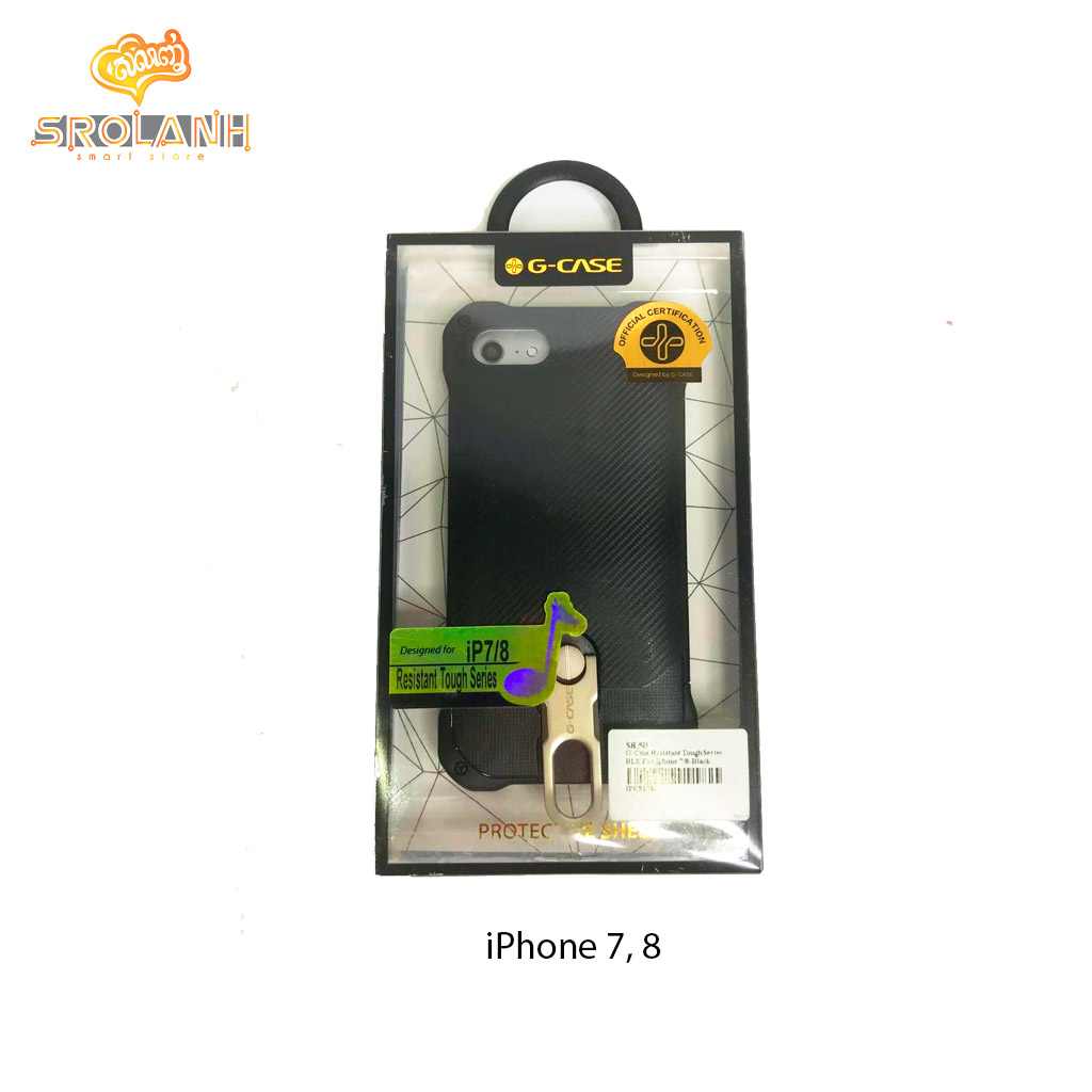 G-Case Resistant Tough Series-BLK For Iphone 7/8