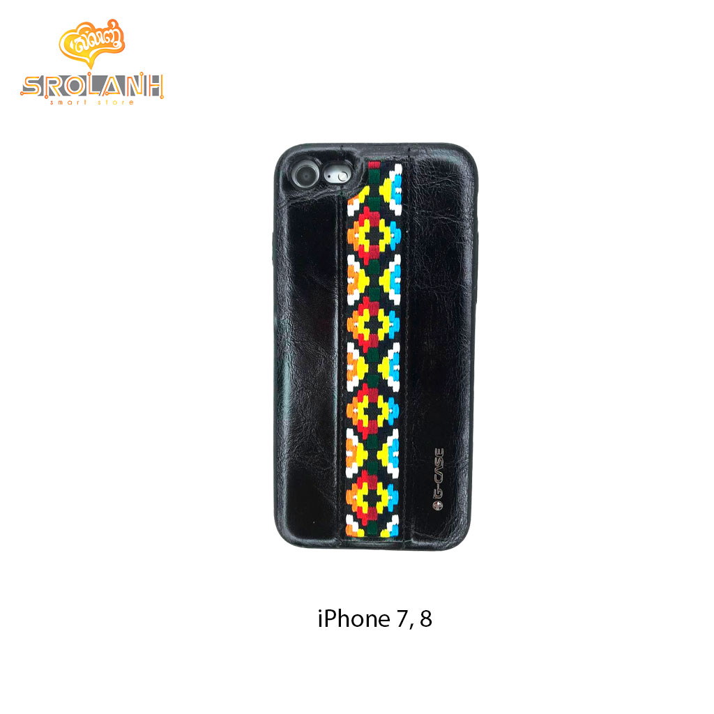 G-Case folk style series old brown for iPhone 7/8