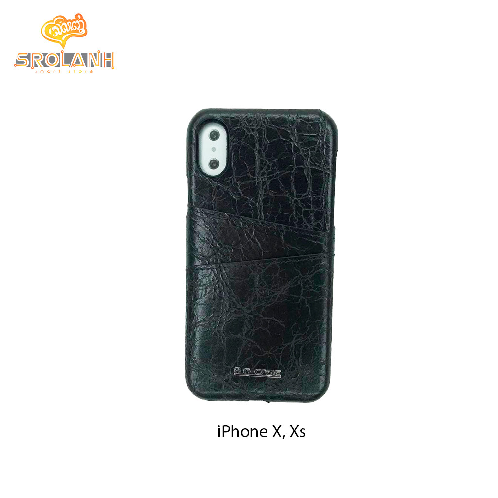 G-Case Koco Seriese-BLK For Iphone X
