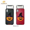 G-Case Cute Series(Pumpkin)-BLK For Iphone X