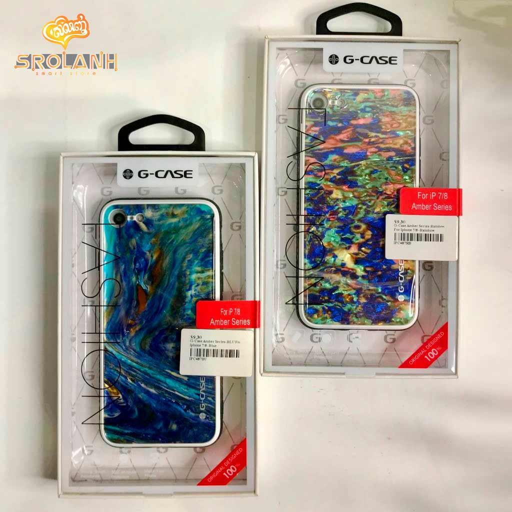 G-Case Amber Series-BLU For Iphone 7/8