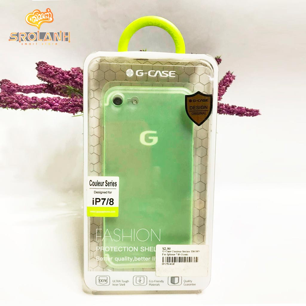 G-Case Couleur Series-TRGRN For Iphone 7/8