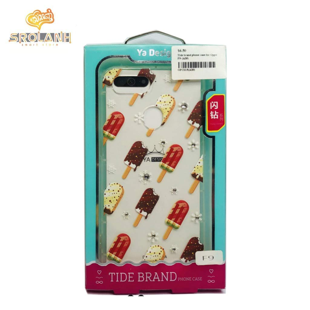 Tide brand phone case for Oppo F9-(A39)