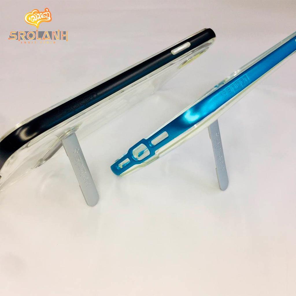 Crystal hybrid mental kickstand for iPhone 7/8 Plus