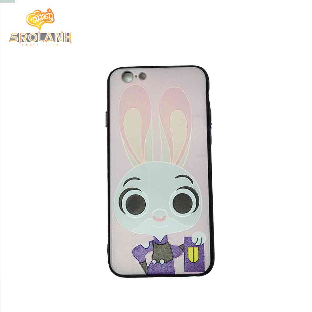 KB 360 creative case +screen rabit with big ear for iphone 6