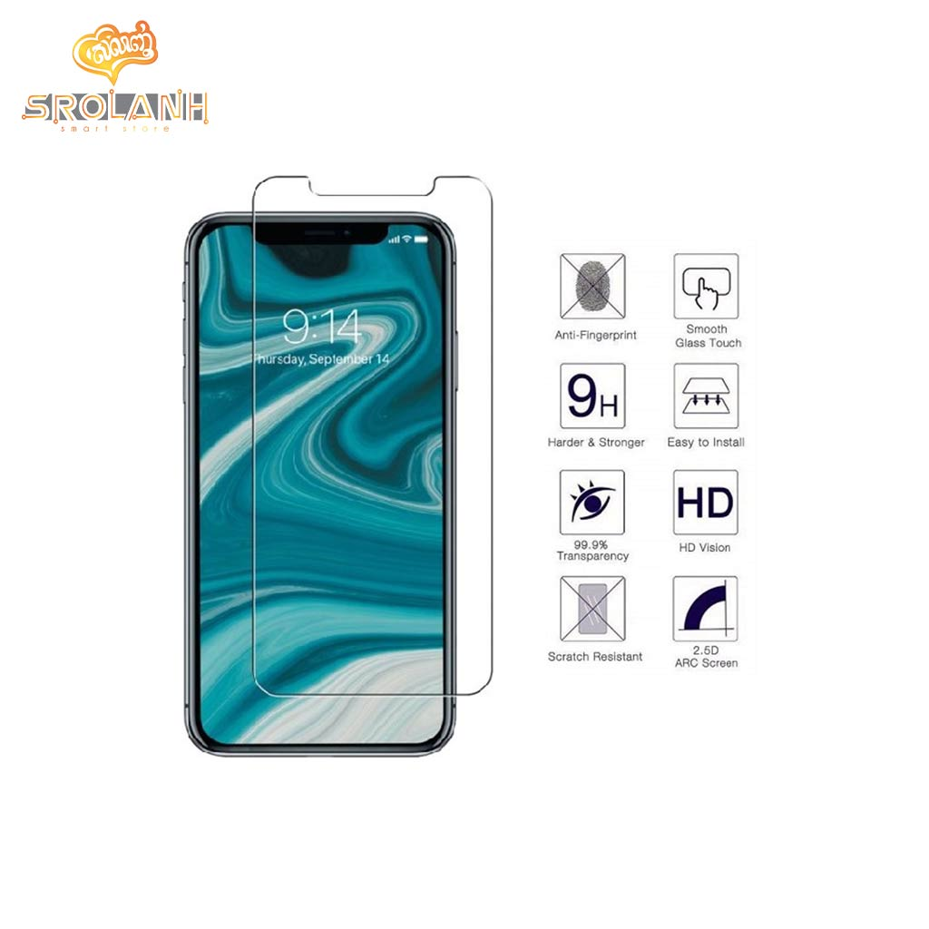 Glass 5D full cover 0.3mm 2.5D for iPhone XR