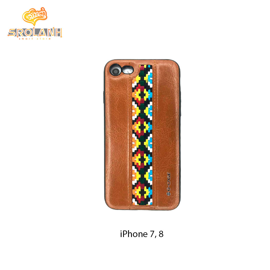 G-Case folk style series new brown for iPhone 7/8-Brown