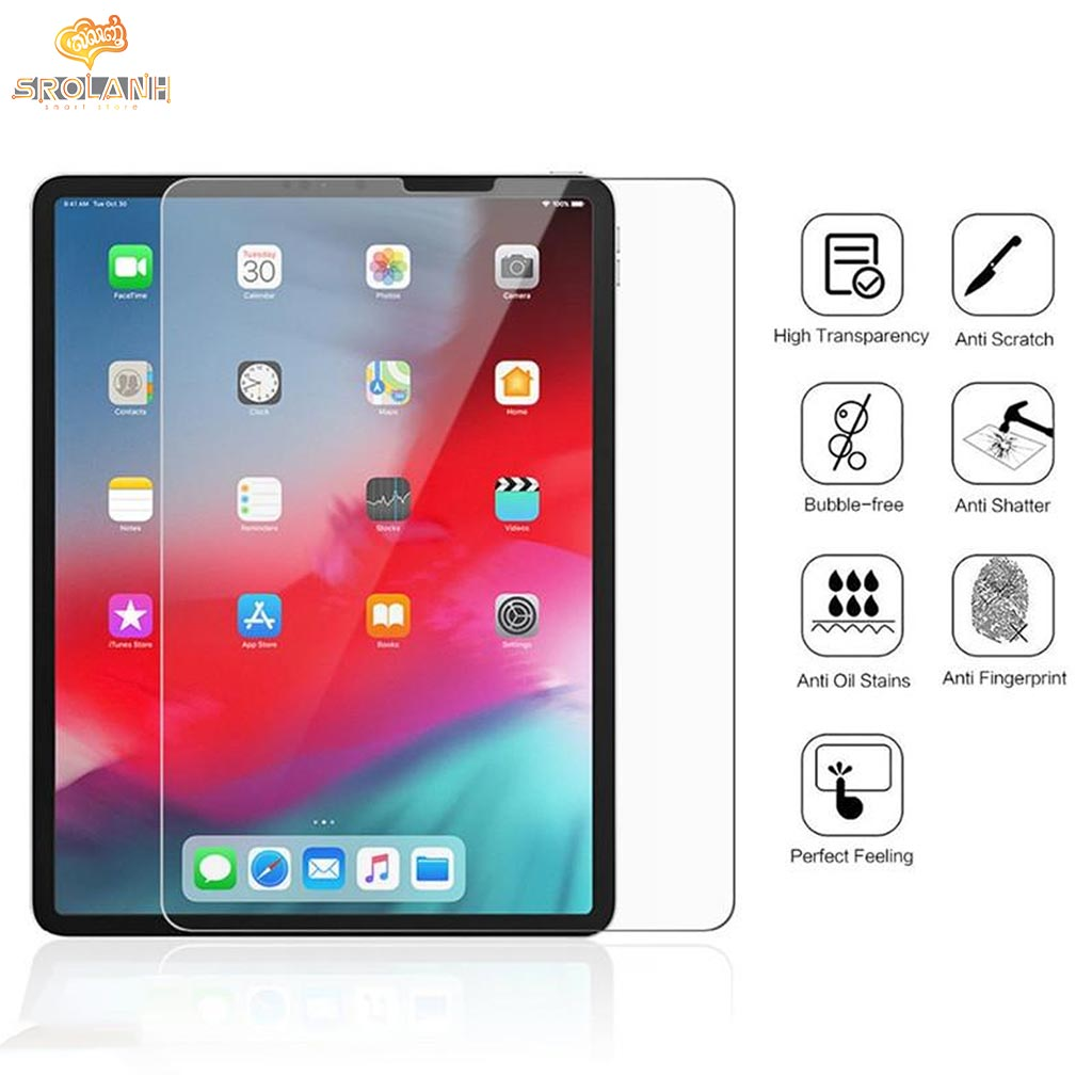 LIT The 0.3mm transparent tempered glass film for iPad Pro 2018 Face ID 9.7inch GTIPDH-H02