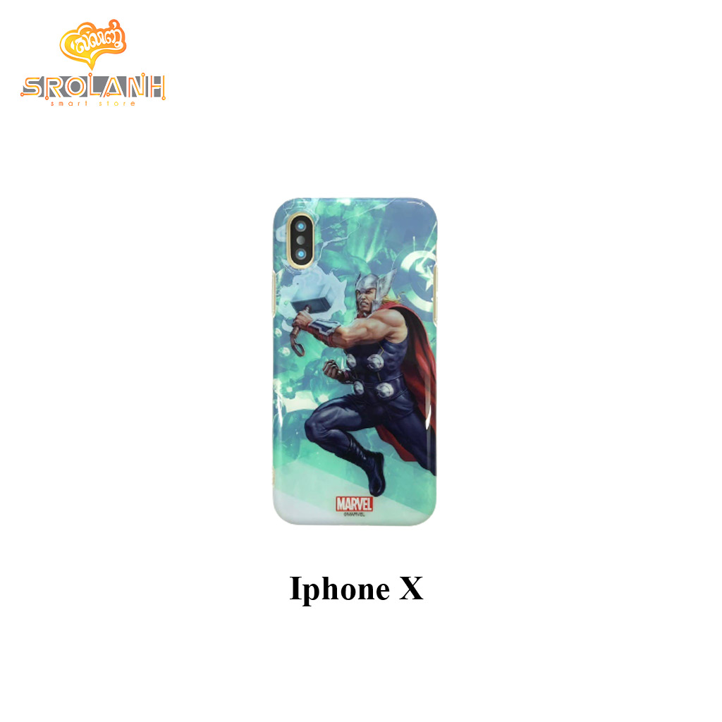 Marvel-Ultraman series phone case Thor for iPhone X