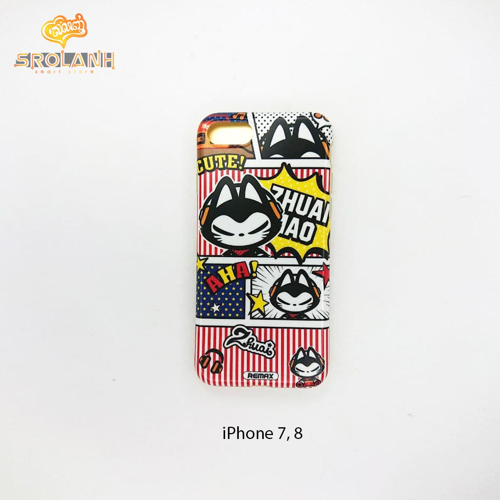REMAX Zhuai mao IML case for iPhone7-ZM011