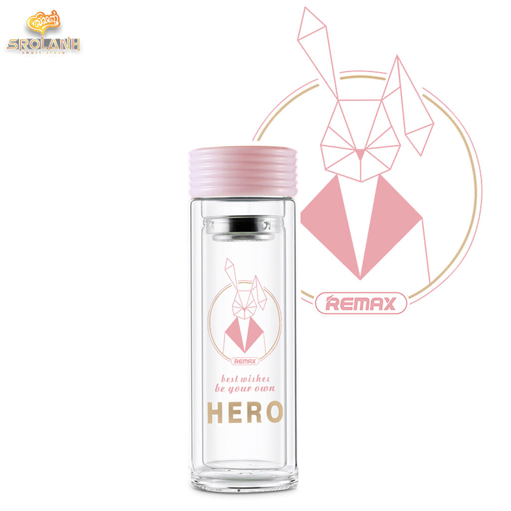 Remax Hero series Double-layer Glass Cup RT-CUP58