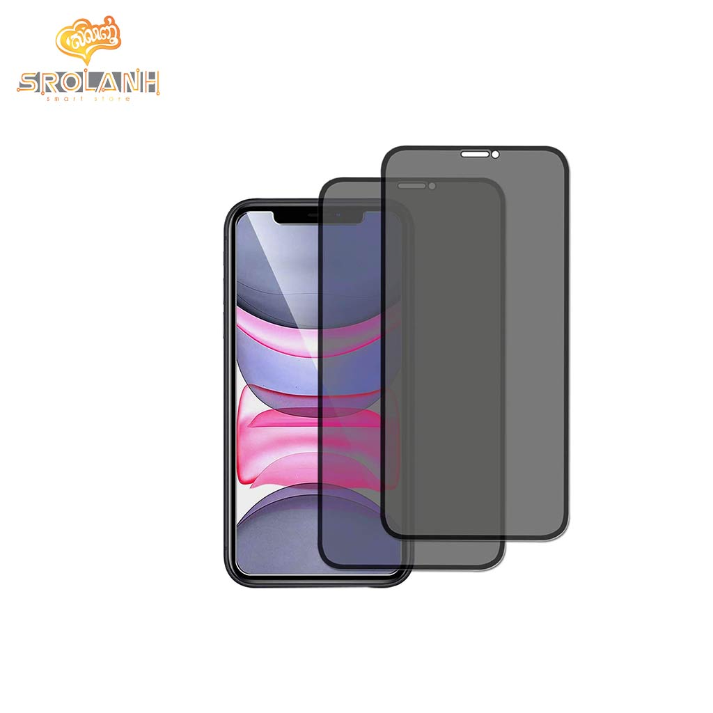 360 Privacy glass 0.3mm for iPhone XR