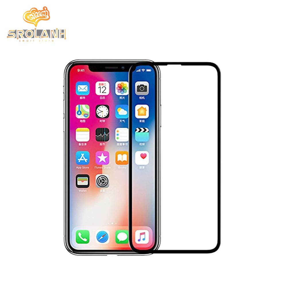 5D tempered glass edge to edge for iPhone XR