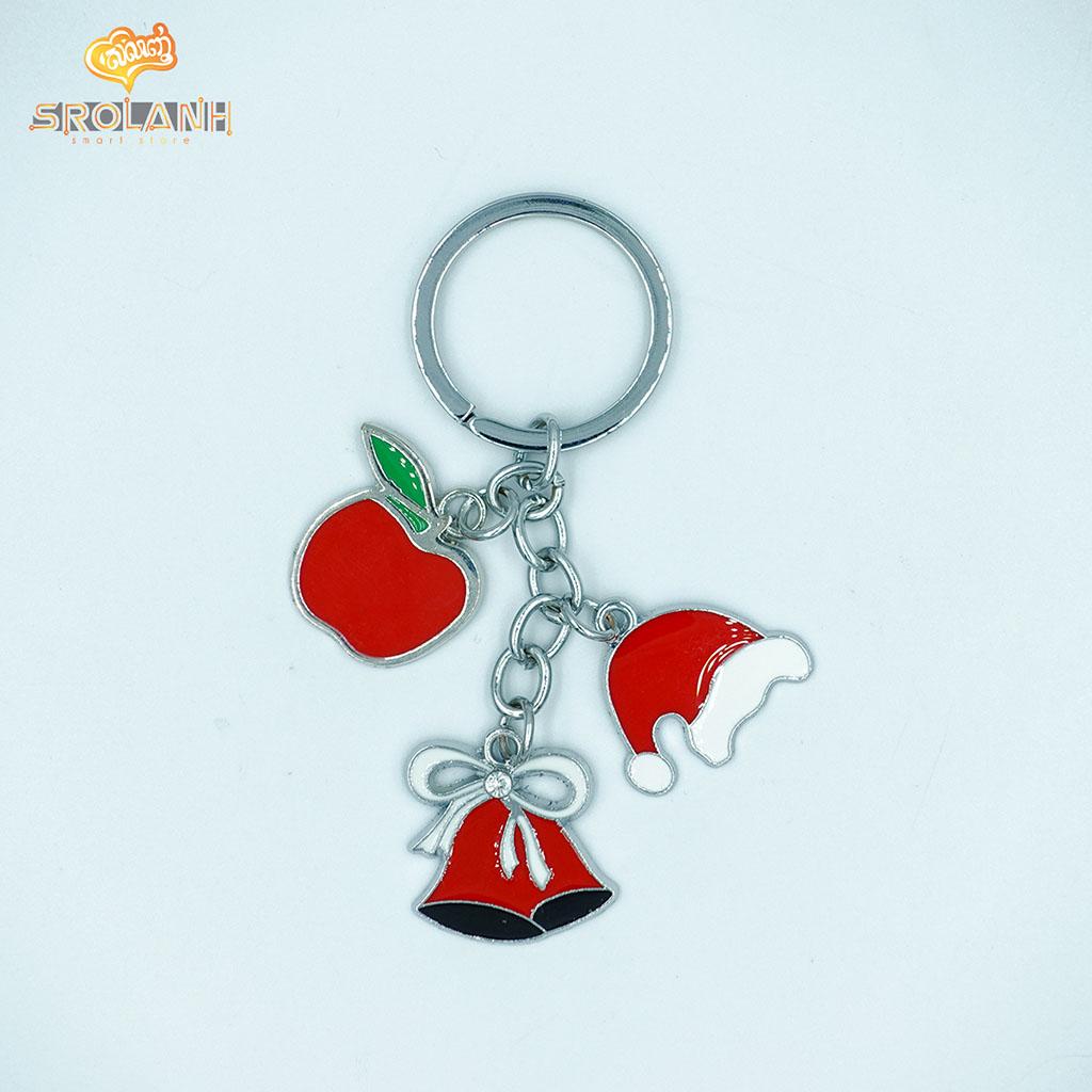 Keychain Christmas 3 Metal 0066