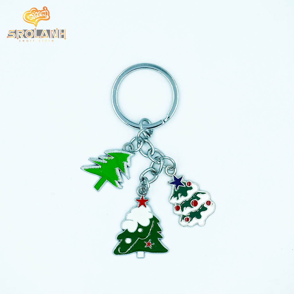 Keychain Christmas 3 Metal 0074