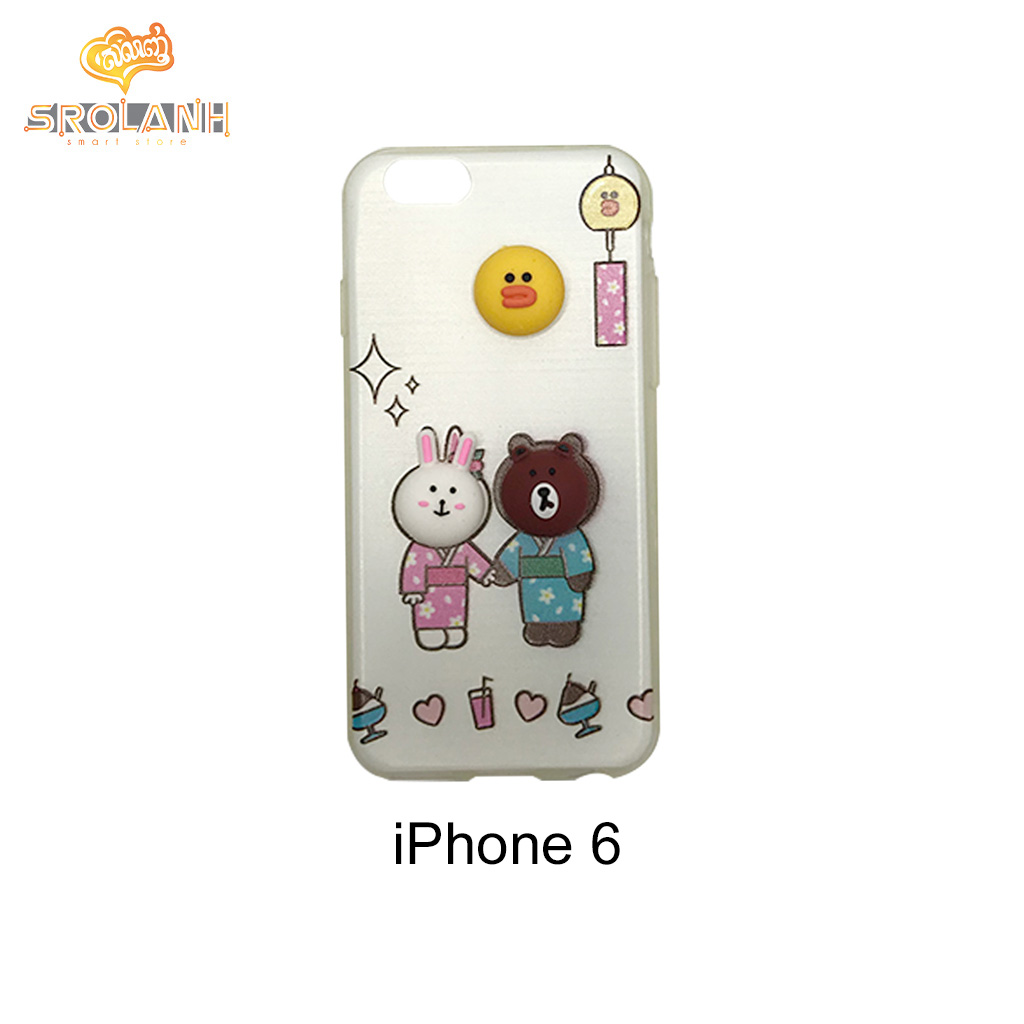 Classic case panda with Japan uniform for iphone6