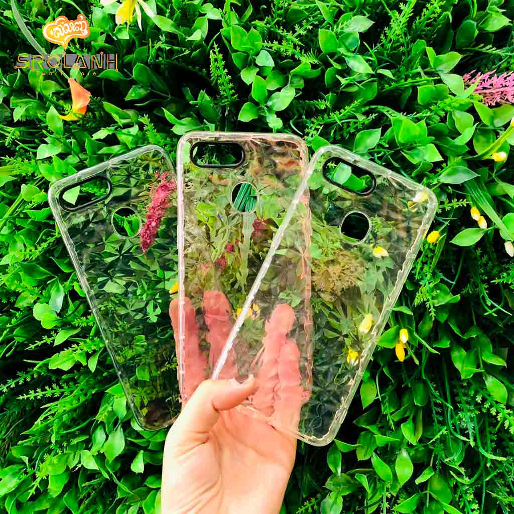 Fashion case crystal style for Oppo F9