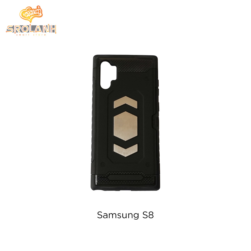 Fashion case crystal style with two color for Samsung S8