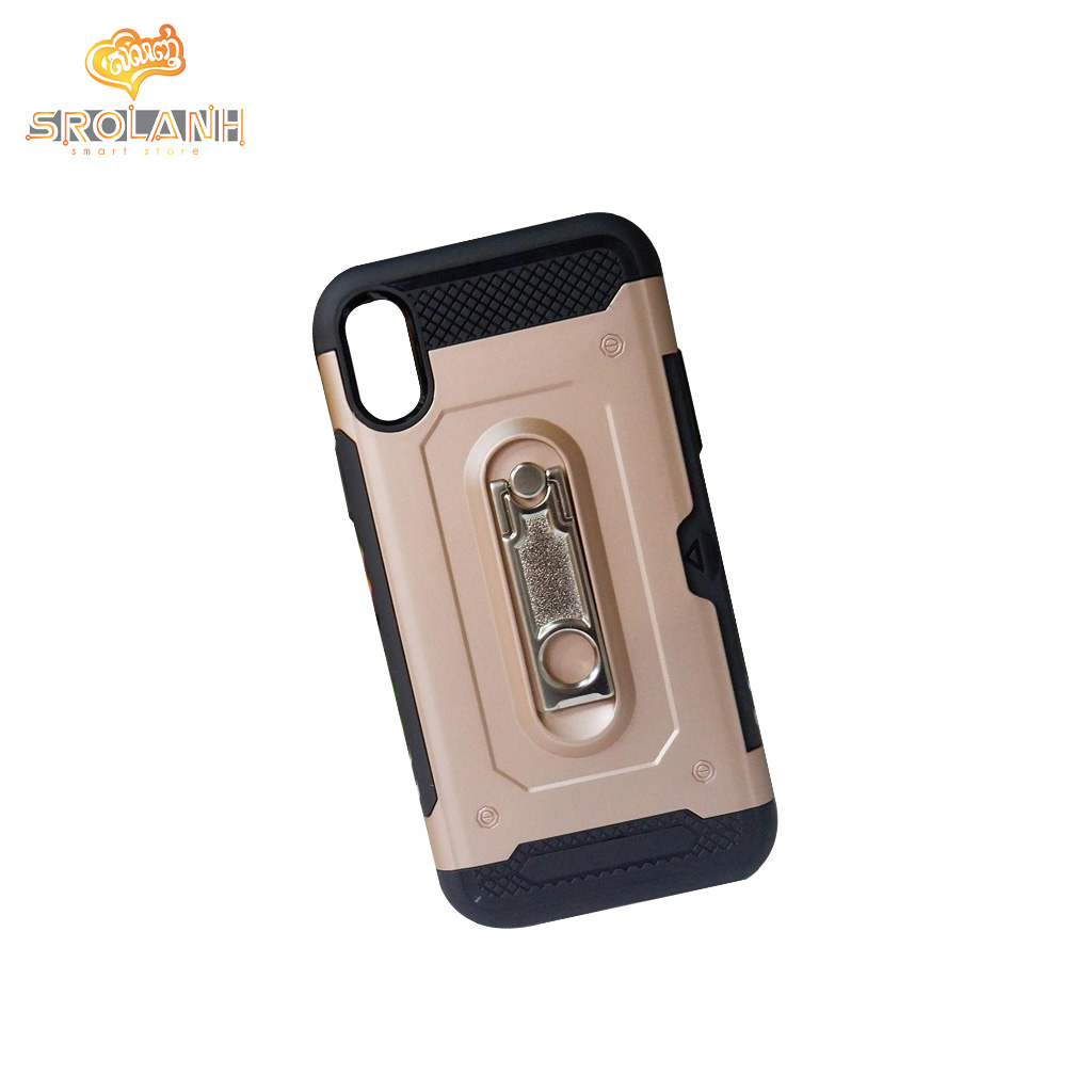 Fashion case vechicle armore for iPhone X