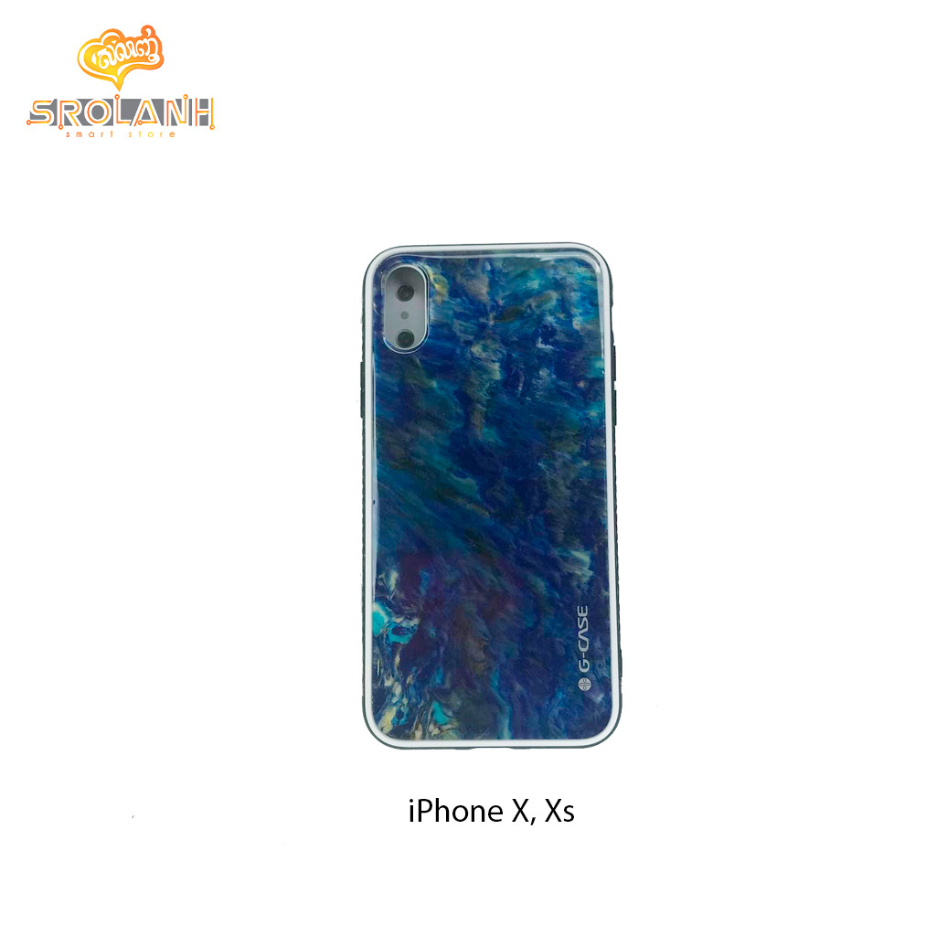 G-Case Amber Series-BLU For Iphone X