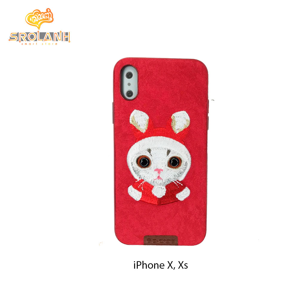 G-Case Beautiful Cat Series-RED For Iphone X