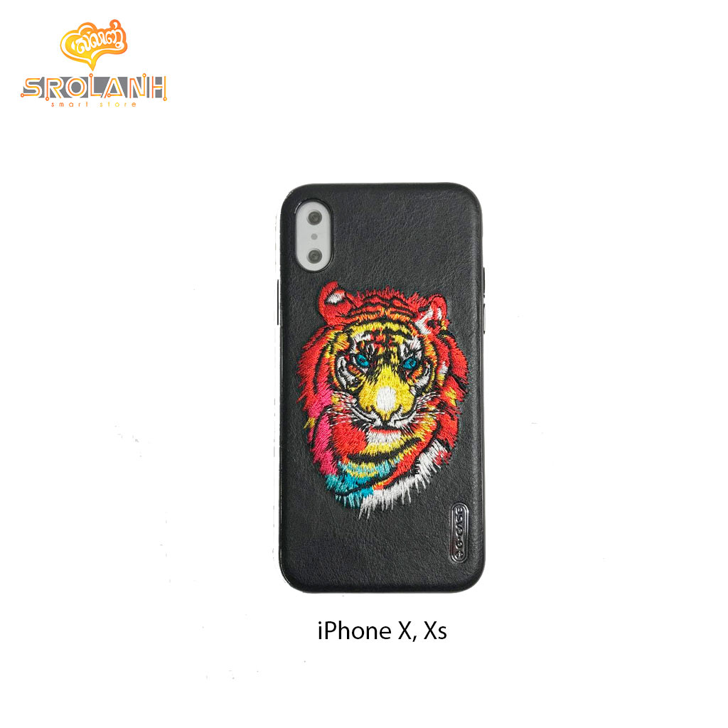 G-Case Beautiful Lion Series-BLK For Iphone X