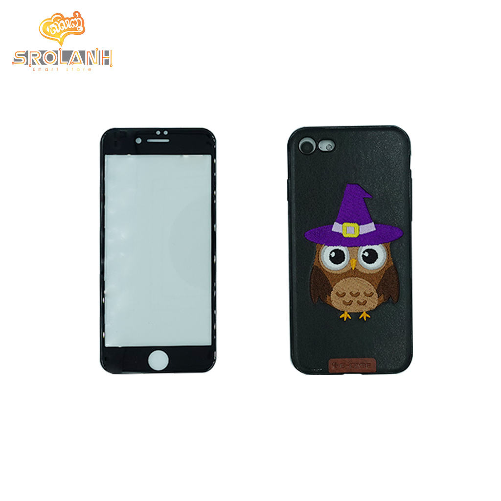 G-Case Cute Series(OW)-BLK For Iphone 7/8