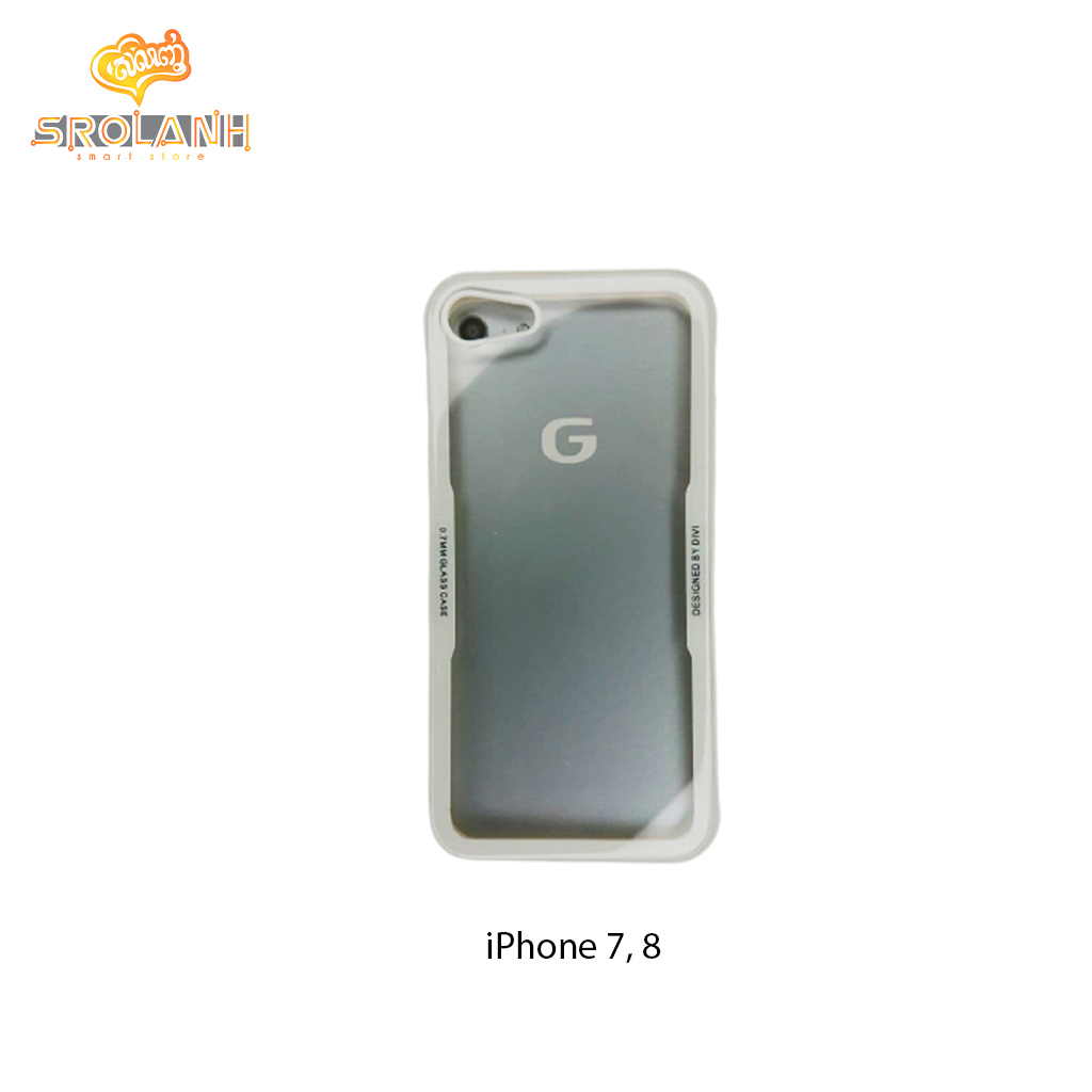 G-Case Glassy Series-WHT For Iphone 7/8