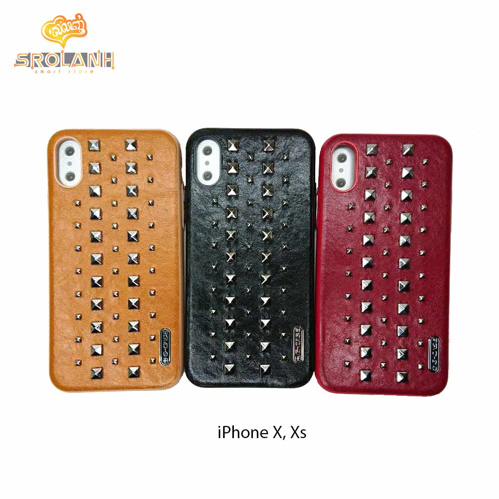 G-Case Rock Series -BED For Iphone X